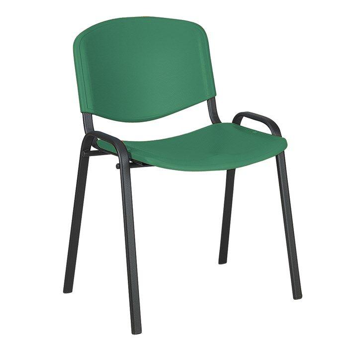 Krzesło Taurus Pn Iso Plastikowe Zielone Meble Biurowepl