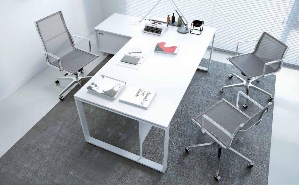 Krzesło Biurowe 8850 Kase Mesh Białe Niskie Oparcie Antares Meble