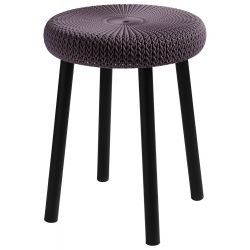 COZY stool Keter Purple
